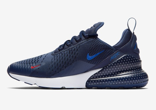 "Nike's ""Unité Totale"" Collection To Include This Navy Blue Air Max 270"