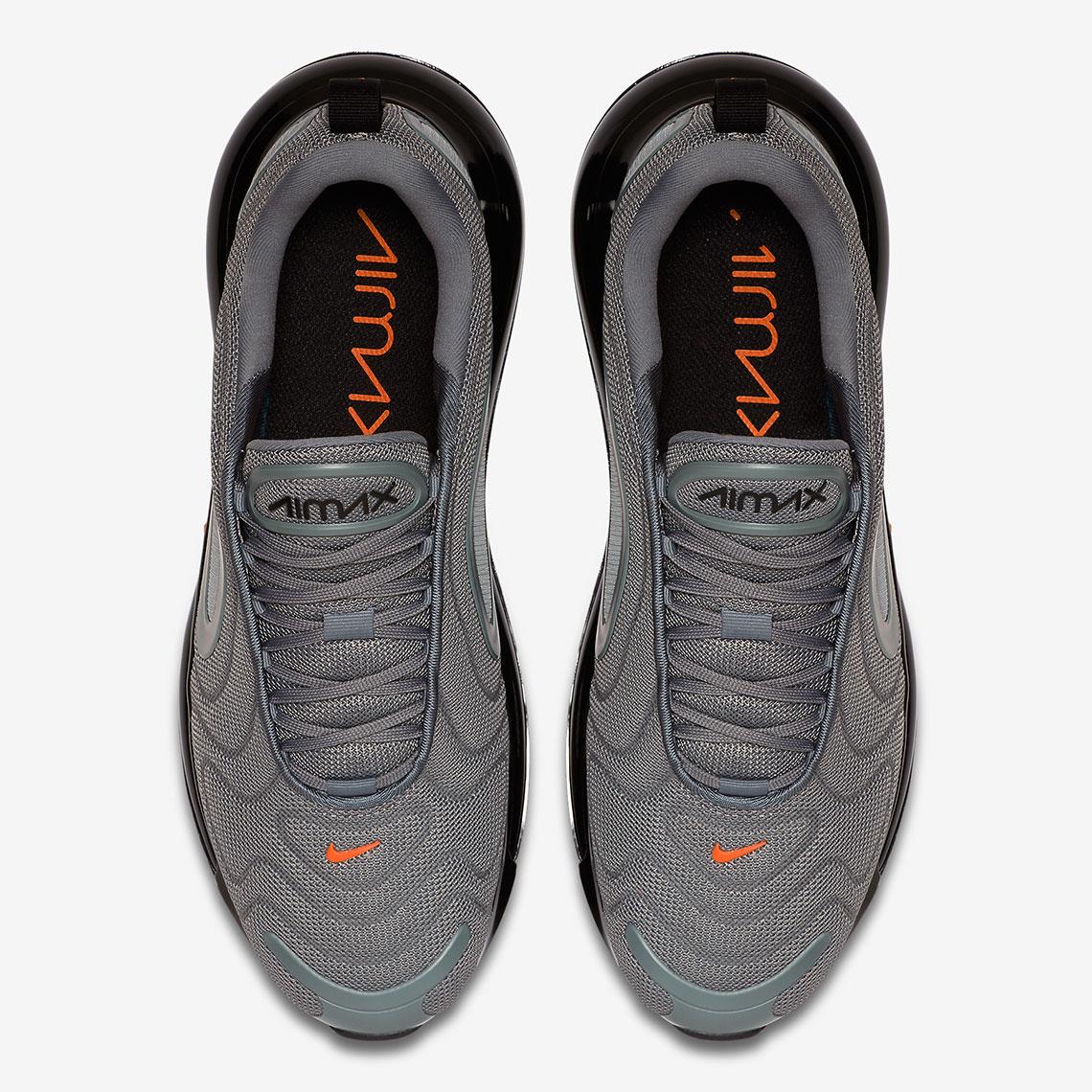 air max 720 cool grey orange