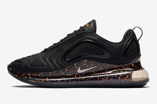 "9acdf049f76f Nike Air Max 720 ""Hot Lava"" Features Crimson Splatter Print"