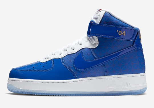 Nike Prepares For The NBA Finals With The Air Force 1 High