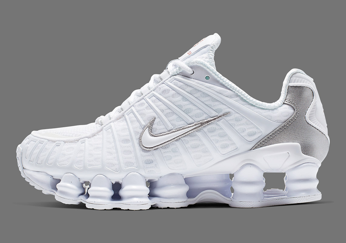 check out edd57 31659 Nike Shox TL White Silver AR3566 100 Release Date + Info ...