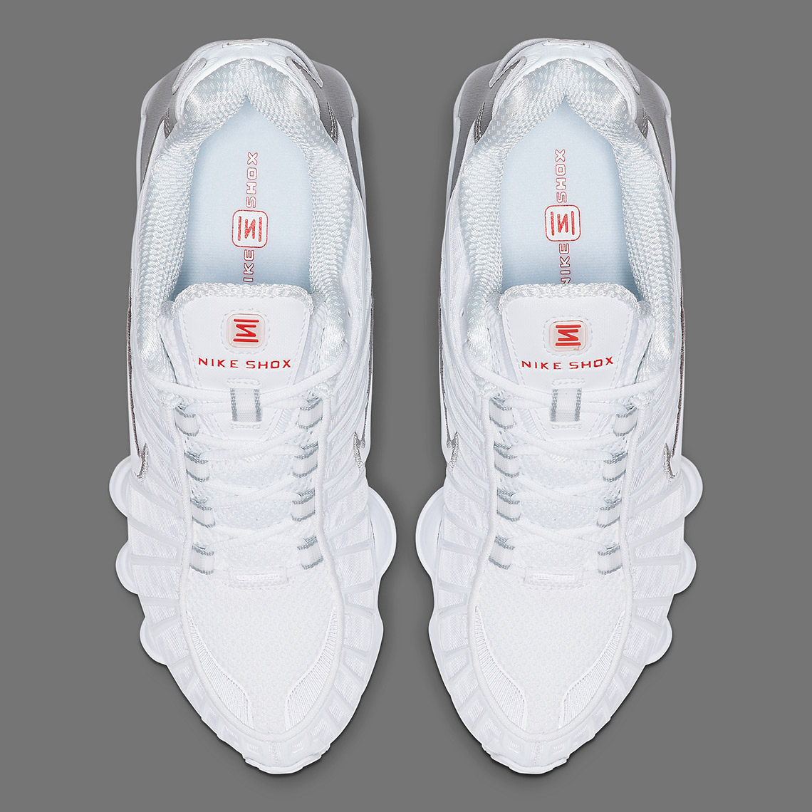 """Nike Shox TL """"White & Silver"""" Release Date Confirmed: Official Images"""