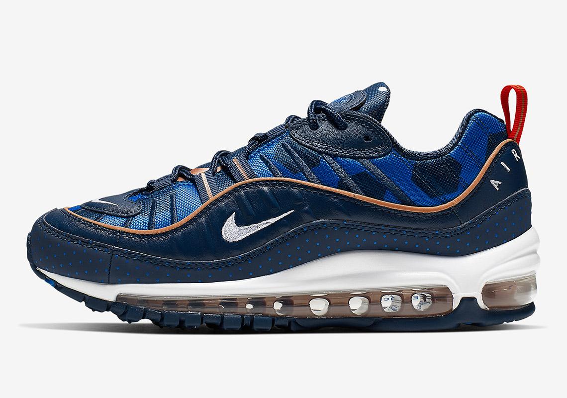 Nike Air Max 98 Polka Dot CI9105 400 Release Info