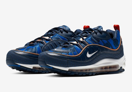 best service 77881 0f006 Polka Dots And Other Shapes Appear On This Nike Air Max 98