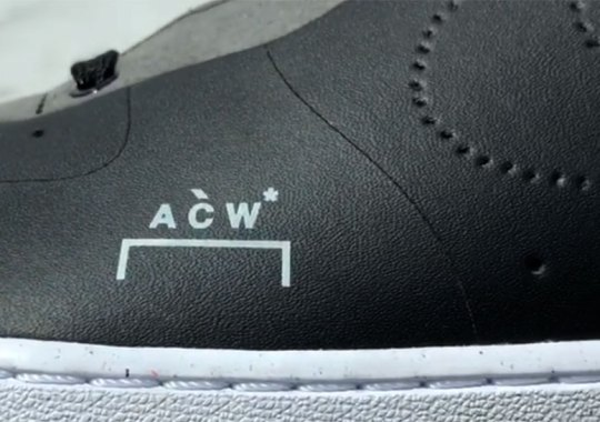 7355497b2f4f ... Air Force 1. Samuel Ross Teases A New Colorway Of The A-COLD-WALL  x  Nike
