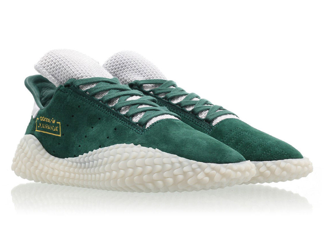 """The adidas Kamanda """"Clear Green"""" Is Hitting Stores Now"""