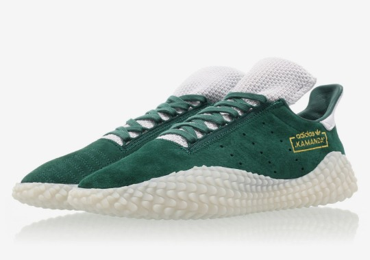 "The adidas Kamanda ""Clear Green"" Is Hitting Stores Now"