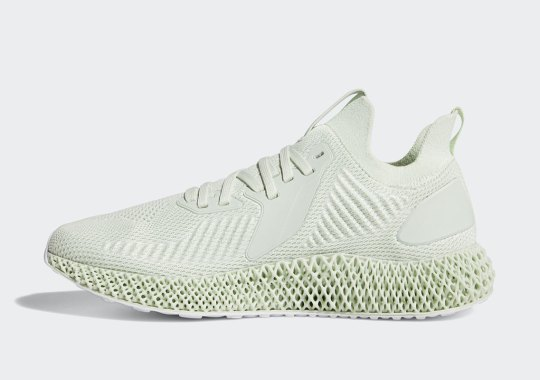 "The adidas Alphaedge 4D ""Aero Green"" Releases On June 8th"