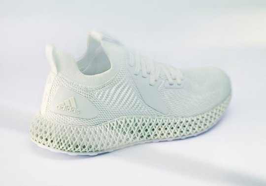 adidas Announces The Alphaedge 4D In Triple White And Parley Collaboration