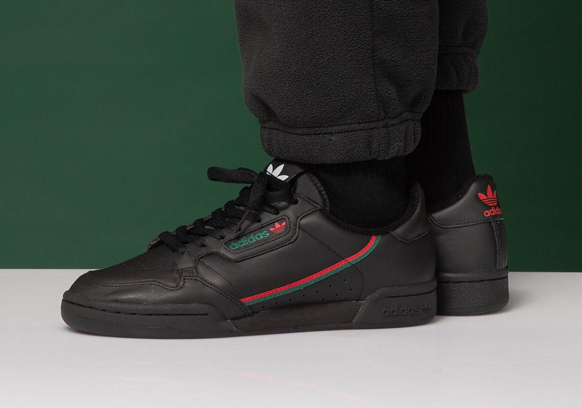 lápiz proporción morfina  adidas Continental 80 Gucci EE5343 Release Info | SneakerNews.com