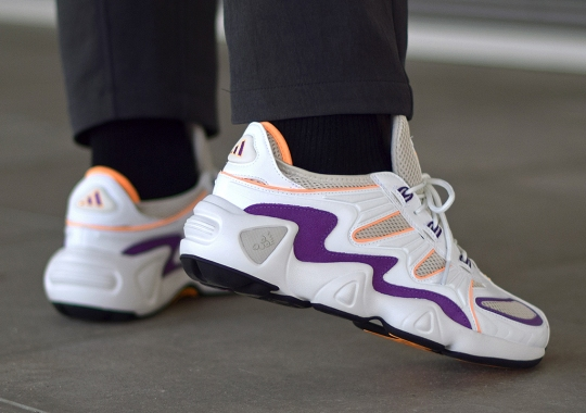 The adidas FYW S-97 Is Back In Flash Orange And Purple