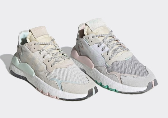 adidas Introduces A Women's Nite Jogger With Pastel Accents