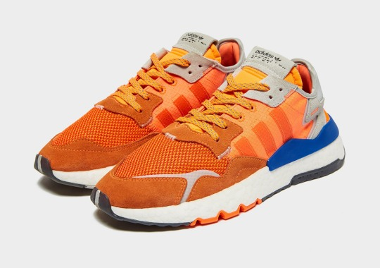 """Here's What The adidas Nite Jogger Looks Like In A """"Goku"""" Colorway"""