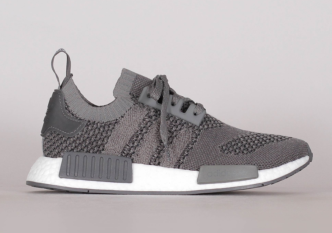 hot sale online 5dc0e 132a8 adidas NMD R1 Primeknit Ash Grey EE3650 Release Info ...