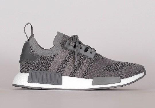 adidas NMD R1 Primeknit Returns In Ash Grey