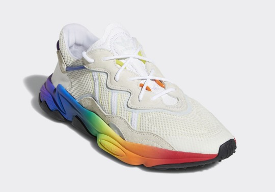 The adidas Ozweego Boldly Celebrates Pride Month With Rainbow Soles