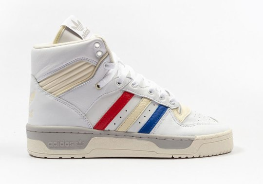 The adidas Rivalry Hi Hits Paris With French Tricolore Theme
