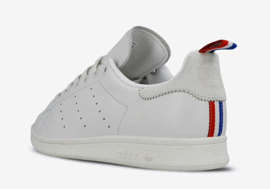 The adidas Stan Smith Appears With A New Tri-Color Heel Tab