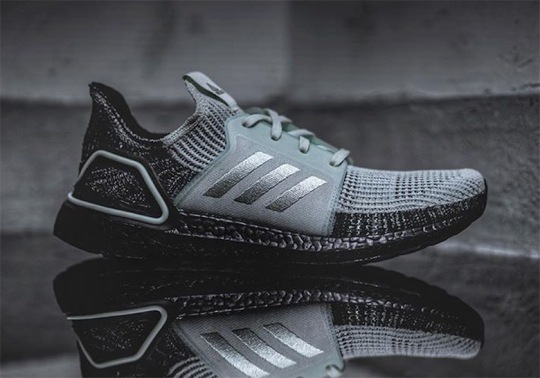 "adidas Ultra Boost 19 ""Oreo"" Adds Black Soles"