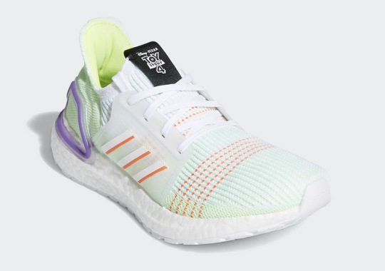 Buzz Lightyear Gets His Own adidas Ultra Boost 19 Colorway