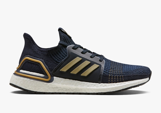 adidas Consortium Adds Navy And Gold To The Ultra Boost 19