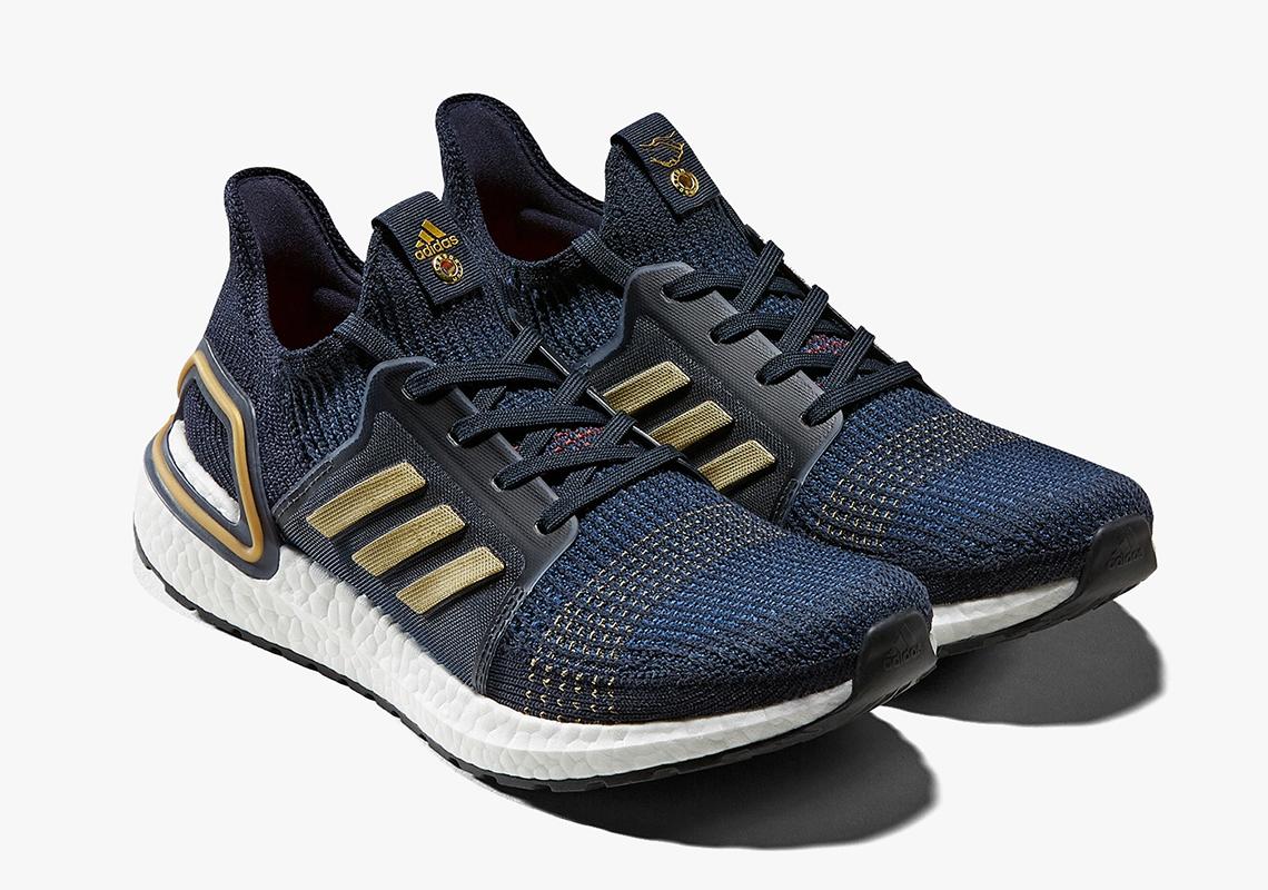 Adidas UltraBoost 2019 Gets Navy & Gold Consortium Release: Details