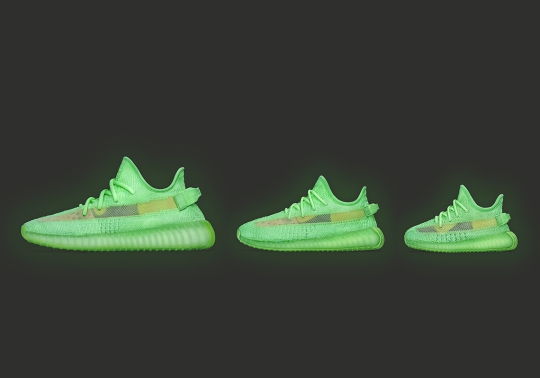 "After Secret Pre-Launch, The adidas Yeezy 350 v2 ""Glow"" Will Officially Release On May 25th"
