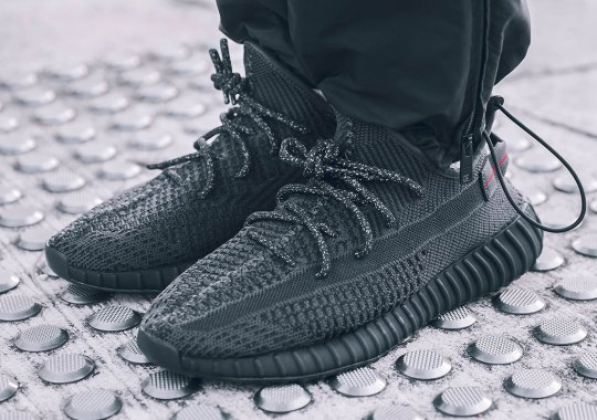 "4aa3a42ba On Foot Look At The adidas Yeezy Boost 350 v2 ""Black"""