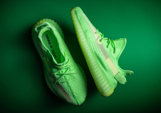 "The adidas Yeezy Boost 350 v2 ""Glow"" Release Reminder"