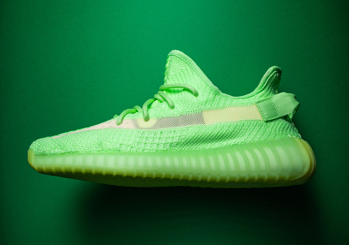 Adidas Yeezy Boost 350 V2 Glow HotNewHipHop