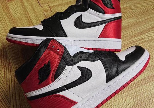 """Up Close With The Upcoming Air Jordan 1 """"Black Toe"""" For Women"""