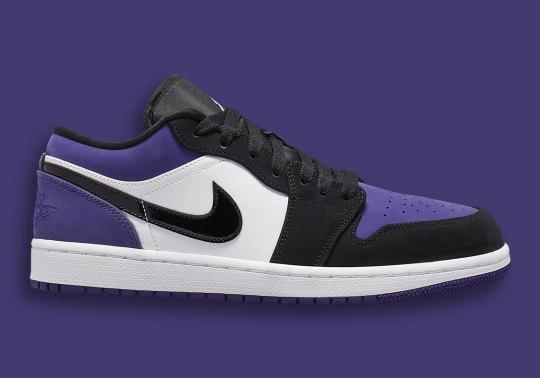 The Air Jordan 1 Low Is Releasing In Court Purple