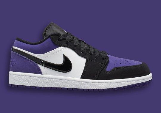 d78e3208a9b442 The Air Jordan 1 Low Is Releasing In Court Purple