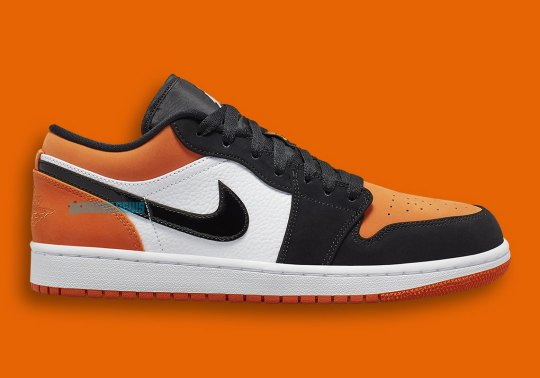 "First Look At The Air Jordan 1 Low ""Shattered Backboard"""
