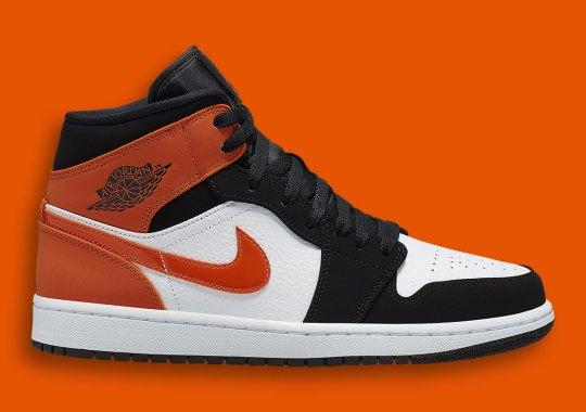 26ce0654ab7ba5 Air Jordan 1 Mid Arrives In A Familiar Starfish Orange