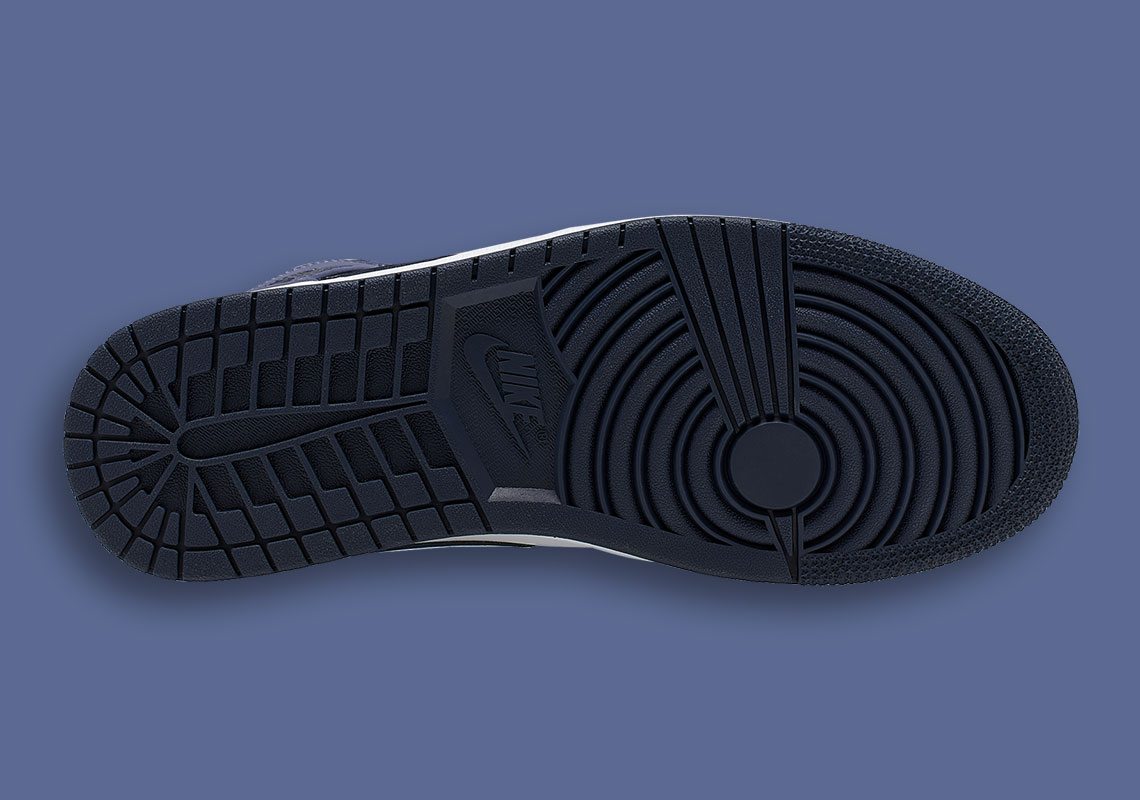 c6debdc424b5cf Air Jordan 1 Mid  110. Color  Obsidian Sanded Purple White Style Code   554724-445