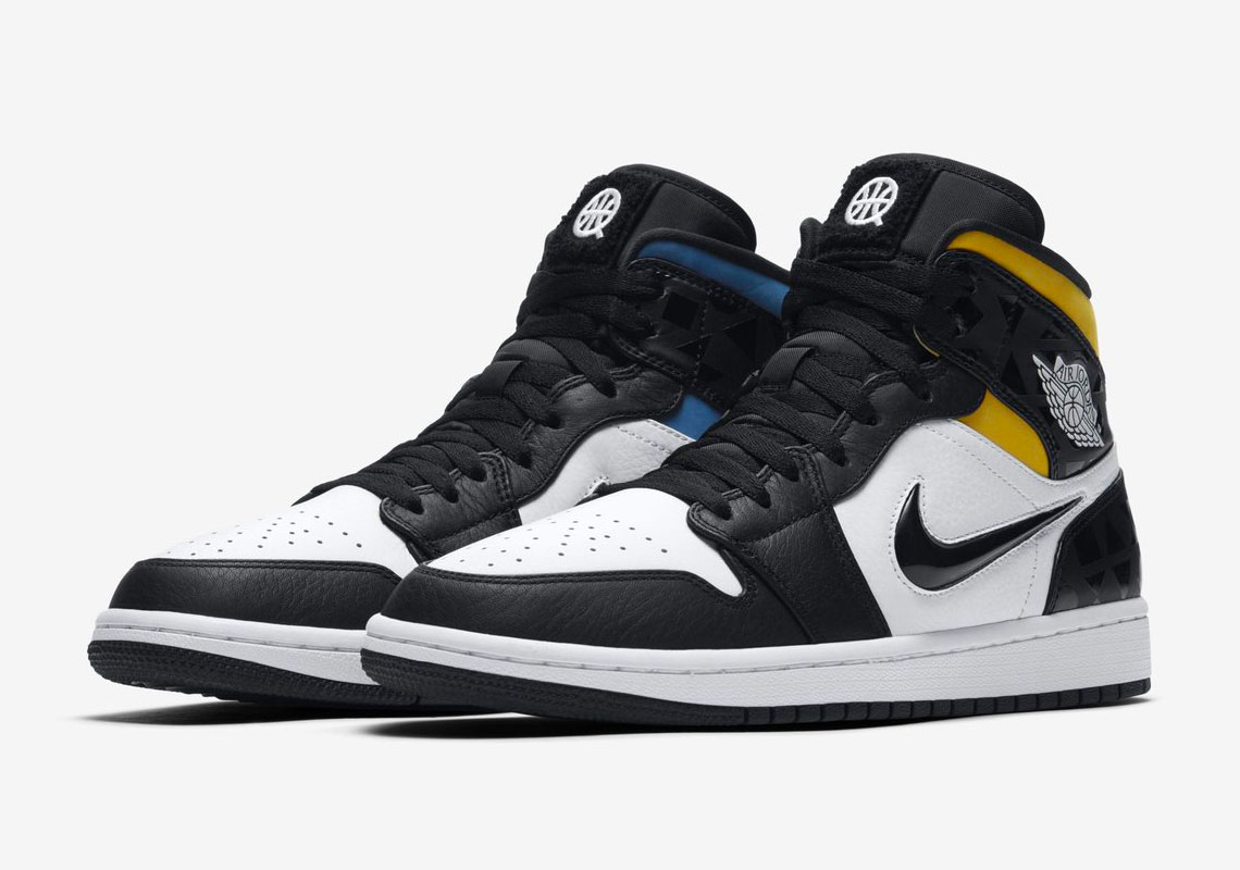 check out 179c6 63570 Air Jordan 1 Mid Quai 54 CJ9219-001 Release Info ...