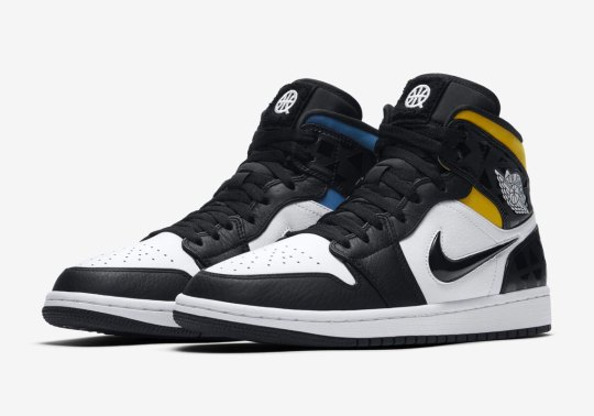 The Air Jordan 1 Mid Quai 54 Is Coming In June