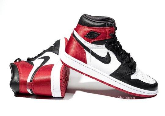 """The Women's Air Jordan 1 """"Black Toe"""" Releases On August 31st"""