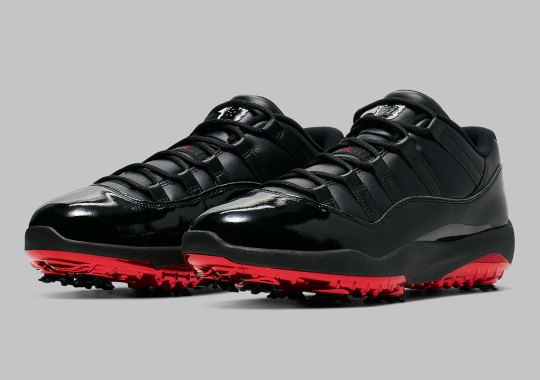 "82f9a181e525 Air Jordan 11 Golf ""Safari Bred"" Releases On May 17th"