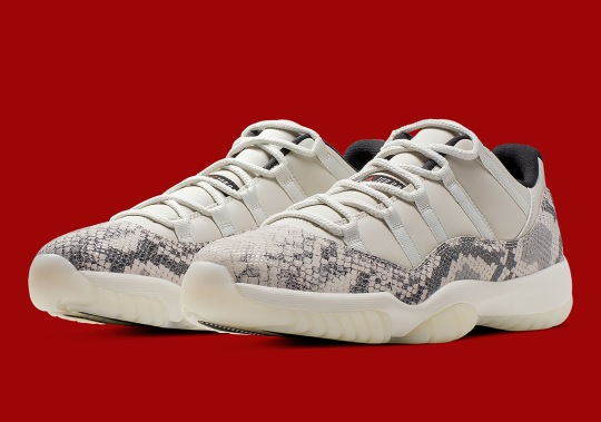 "Where To Buy The Air Jordan 11 Low LE ""Snakeskin"""
