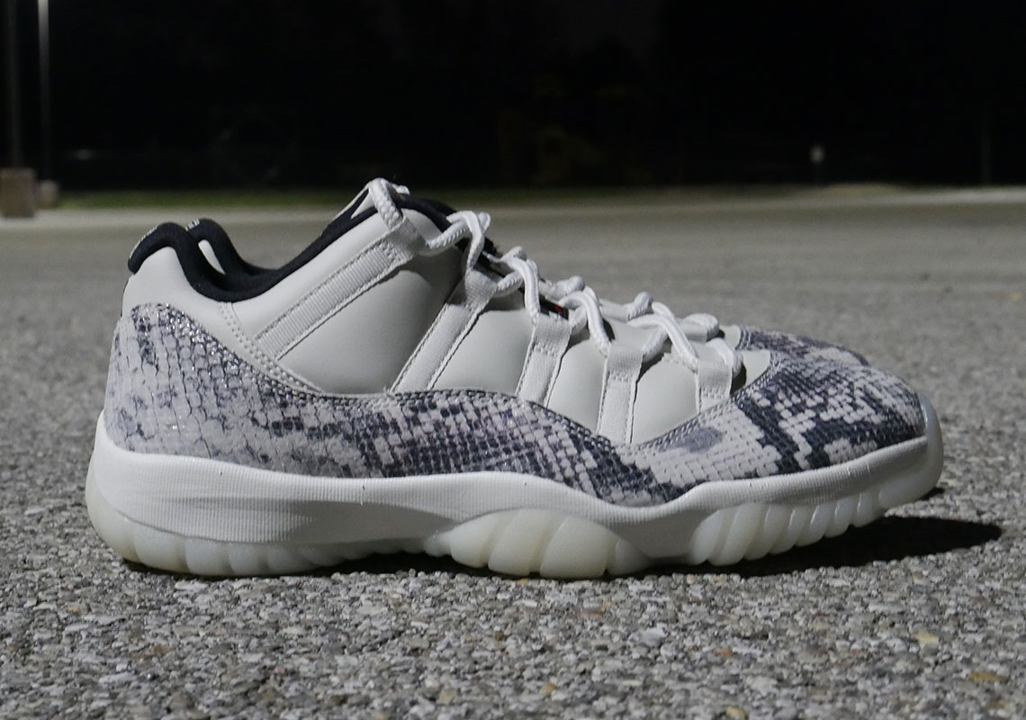 buy popular 3b80a dc983 Air Jordan 11 Low LE Snakeskin CD6846-002 Release Date ...