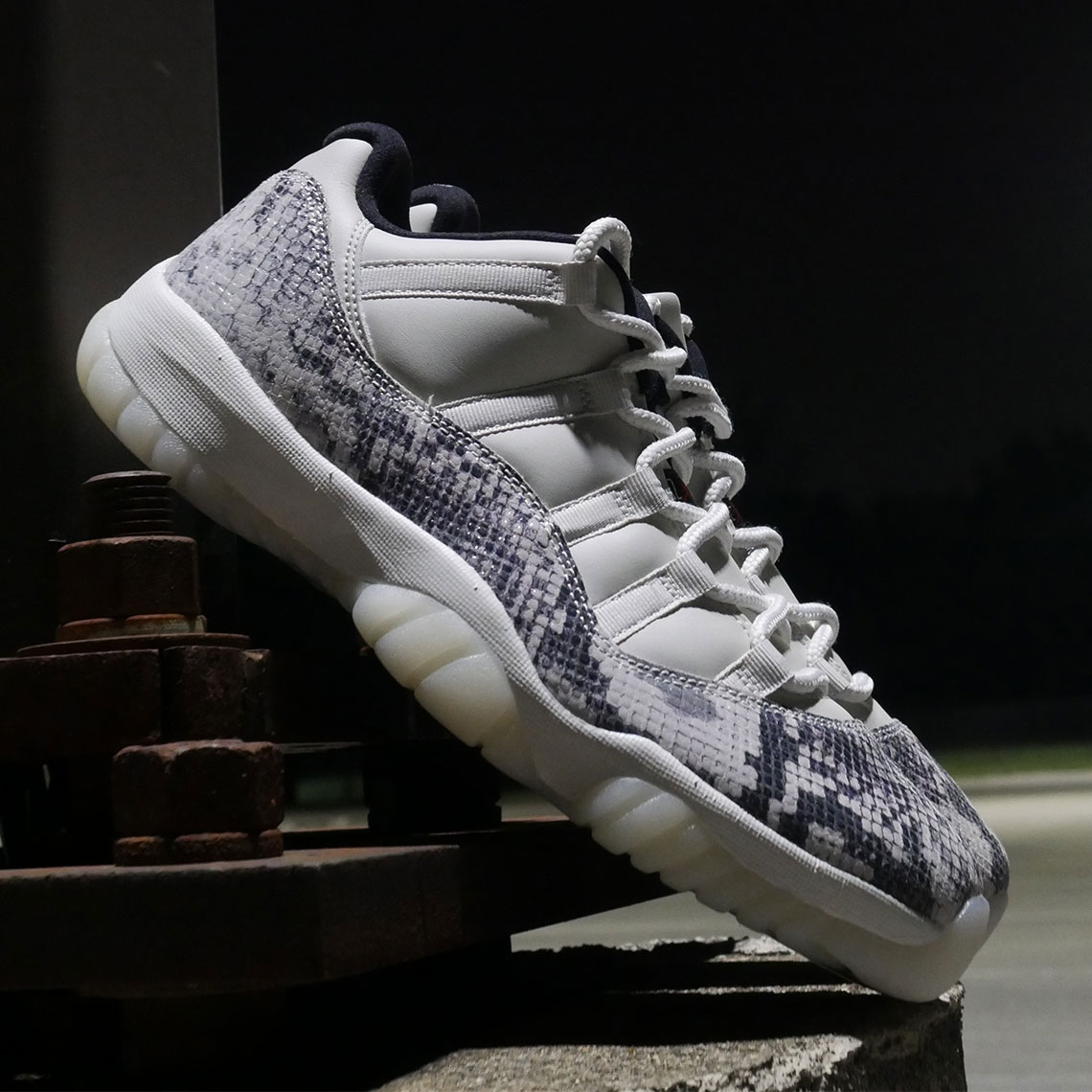 6af8dcb69fb Air Jordan 11 Low LE Snakeskin CD6846-002 Release Date | SneakerNews.com