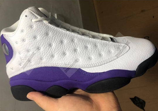 "Air Jordan 13 ""Lakers"" Releasing In July"