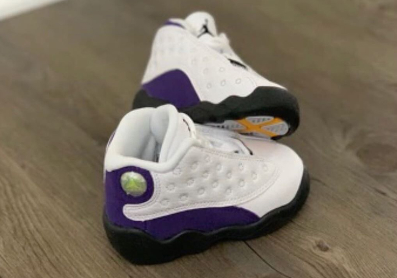 96e4de359cd Air Jordan 13 Lakers Release Info | SneakerNews.com