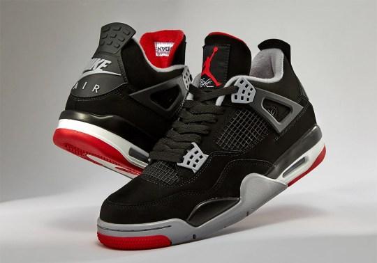 """Air Jordan 4 """"Bred"""" Releases Today"""