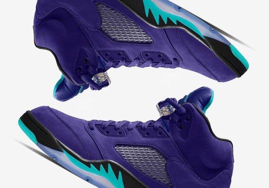 "Air Jordan 5 ""Grape Ice"" Set For A Summer 2020 Release"
