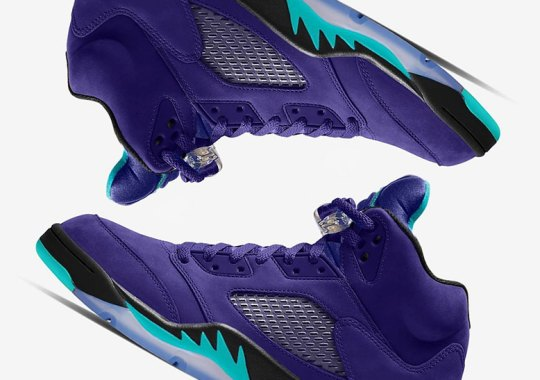 "Air Jordan 5 ""Grape Ice"" Set For A Summer 2020 Release"