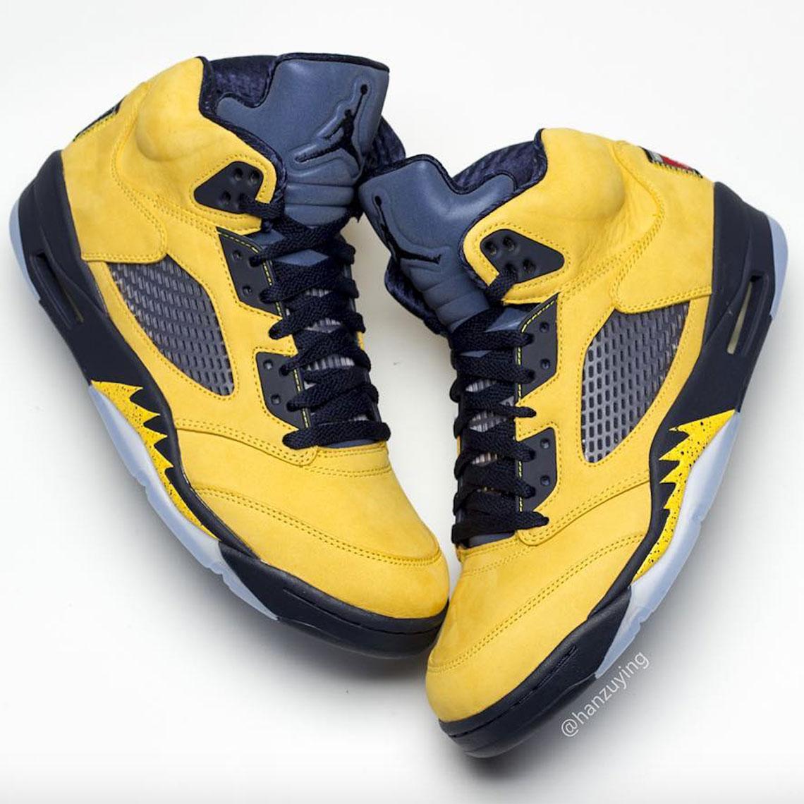 best sneakers d000e 2c6ce Air Jordan 5 Michigan