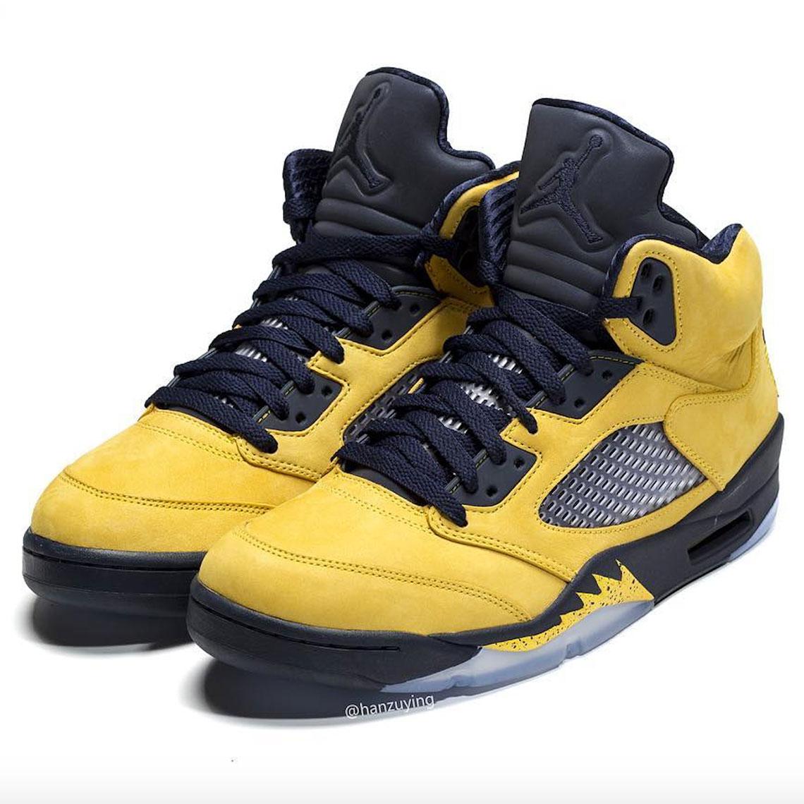 best sneakers dfb5f 16319 Air Jordan 5 Michigan